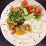 Thaimaalainen lounas.